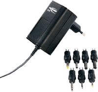 ANSMANN Netzteil UNIVERSAL APS300 inkl. Steckersortiment 100...240 V AC / 3...12 V / 600 mA - brwtools.ch