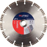 ROTEC Diamanttrennscheibe Turbo 125 mm - brwtools.ch