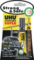 UHU Alleskleber  Super Strong & Safe 7 g / Tube - brwtools.ch