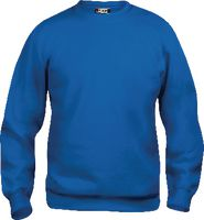 CLIQUE Sweat-Shirt  Basic Roundneck 021030 / royalblau M - brwtools.ch