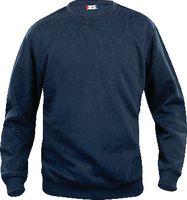 CLIQUE Sweat-Shirt  Basic Roundneck 021030 / dunkel marine L - brwtools.ch