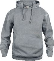 CLIQUE Basic Hoody  021031 graumeliert L - brwtools.ch