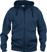 CLIQUE Basic Hoody Full Zip  021034 dark navy L - brwtools.ch