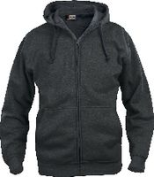 CLIQUE Basic Hoody Full Zip  021034 anthrazit meliert L - brwtools.ch