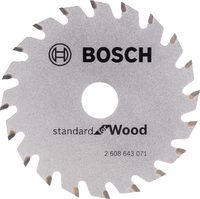 BOSCH Hartmetall-Sägeblatt Optiline Wood Ø 85 x 1.1 x 15 mm / Z20 - brwtools.ch