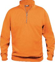 CLIQUE Basic Half Zip  021033 warnschutz-orange L - brwtools.ch