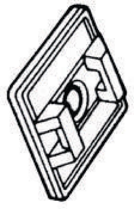 socle adh sif pour attache c bles paquet de 100 pi. Black Bedroom Furniture Sets. Home Design Ideas