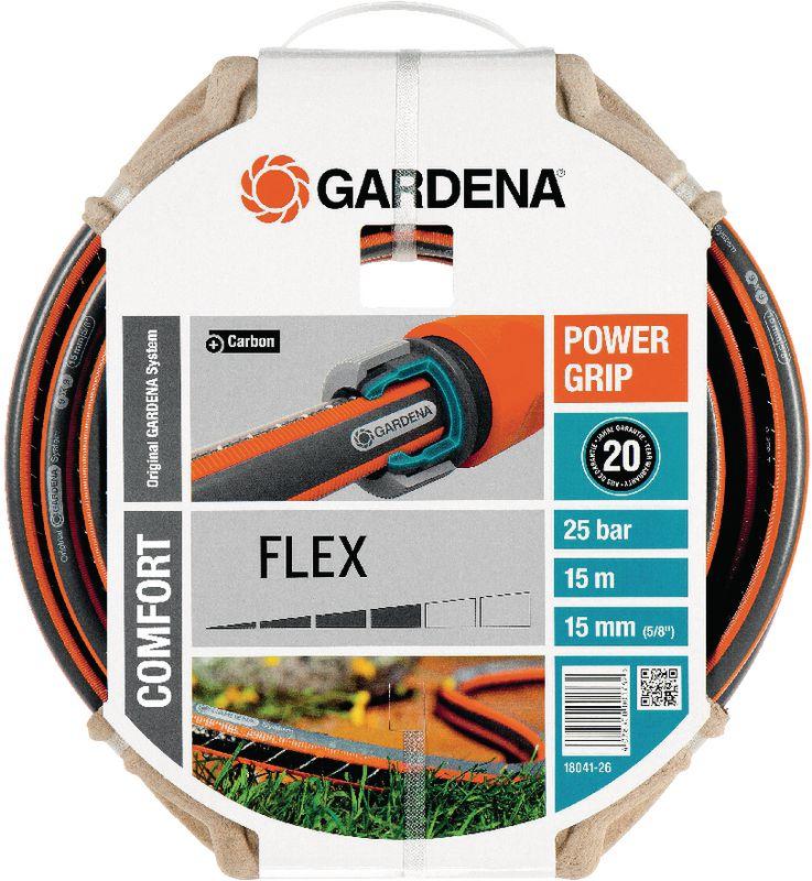 gardena schlauch flex o a 15 mm 5 8 15 m 18. Black Bedroom Furniture Sets. Home Design Ideas